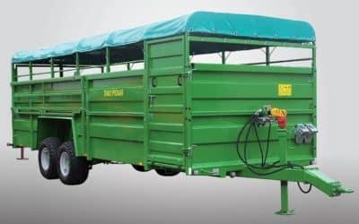 Remorca pentru transport animale vii Pronar T046/2