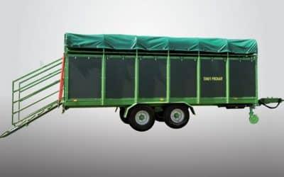 Remorca pentru transport animale vii Pronar T046/1