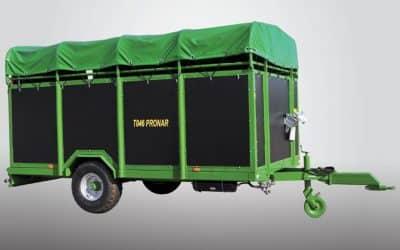 Remorca pentru transport animale vii Pronar T046