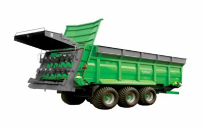 TYTAN 7 PLUS Masina distribuit ingrasamant organic