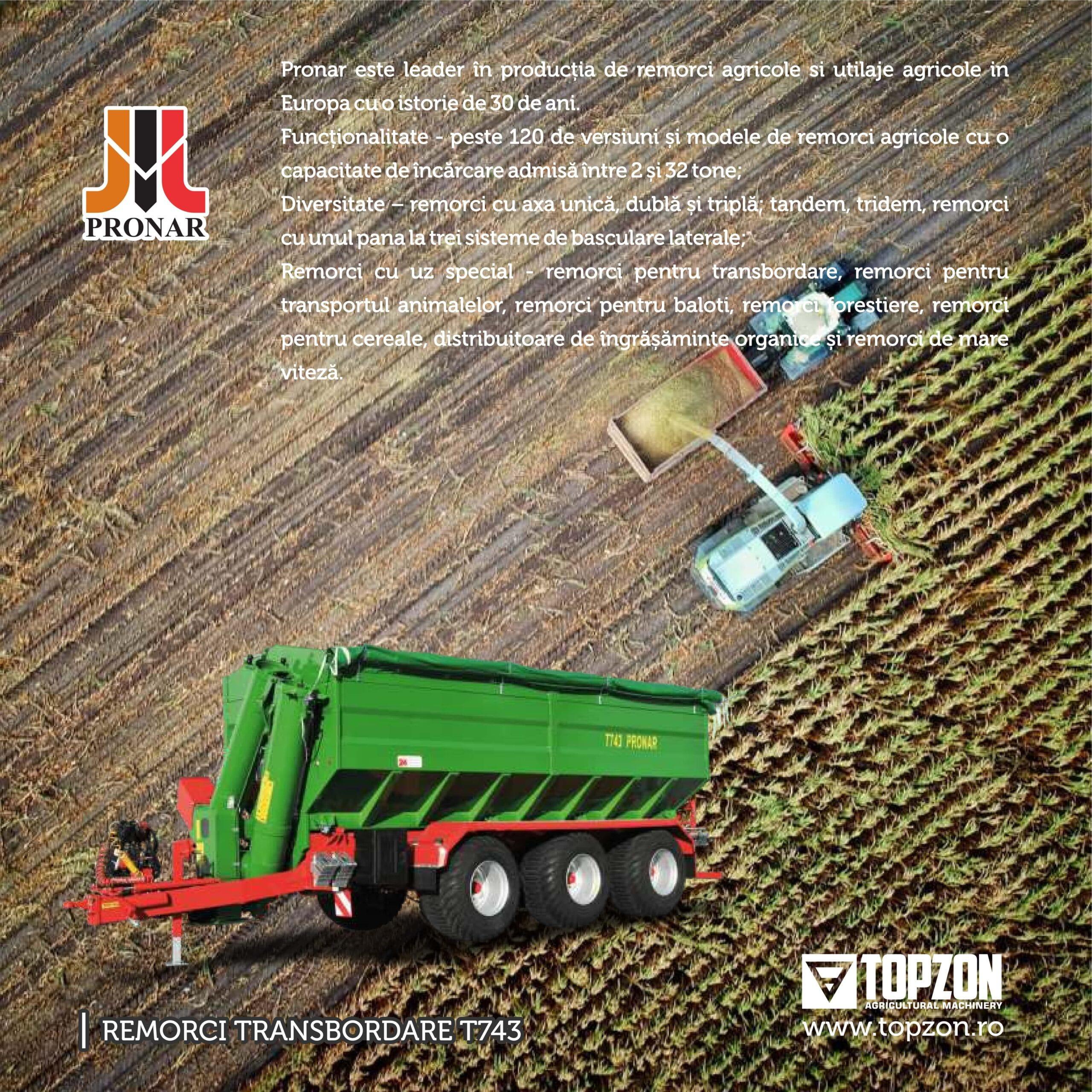 Catalog Topzon utilaje agricole